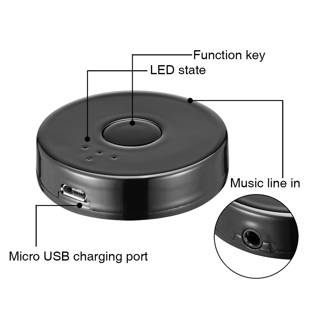 URANT Wireless Bluetooth 4.0 Music Transmitter